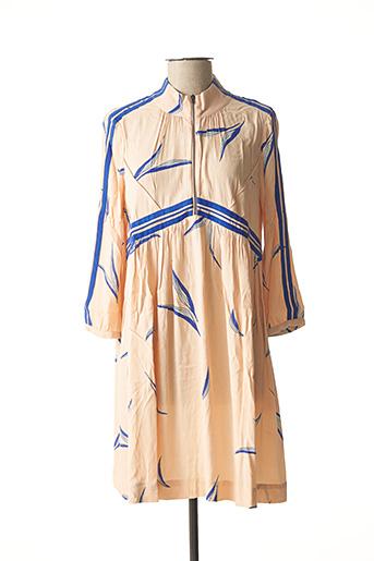 Robe courte rose BA&SH pour femme