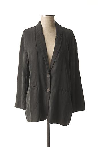 Veste casual noir AMERICAN VINTAGE pour femme