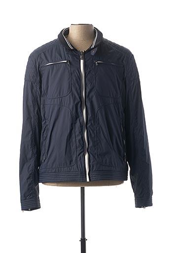 Veste casual bleu IZAC pour homme