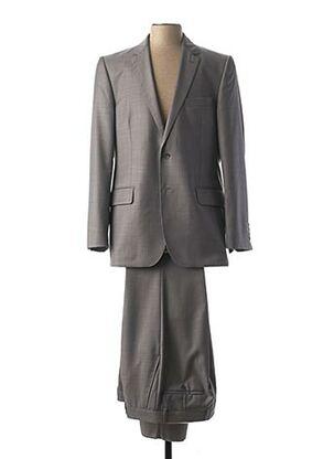 Costume de cérémonie gris NINO LORETTI pour homme