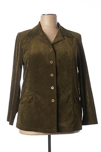 Veste casual vert KARTING pour femme