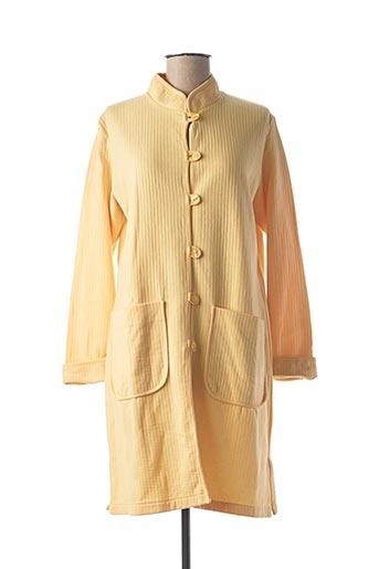 Robe de chambre jaune ZOFIA ROSTAD POUR LIZZIE pour femme
