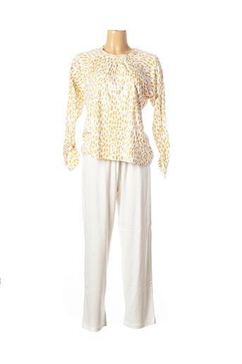 Pyjama beige CANAT pour femme