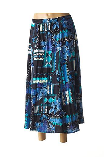 Jupe longue bleu GUITARD pour femme