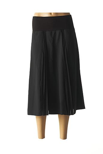 Jupe mi-longue noir GARDEUR pour femme