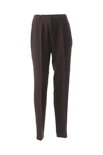 Pantalon casual marron FEDORA pour femme