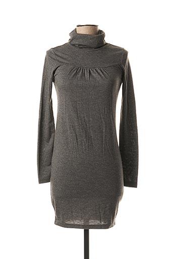 Robe courte gris BLEND pour femme