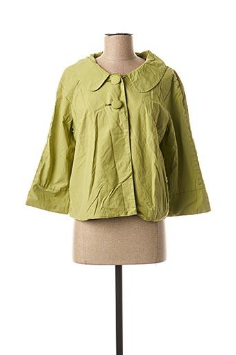 Veste casual vert DDP pour femme