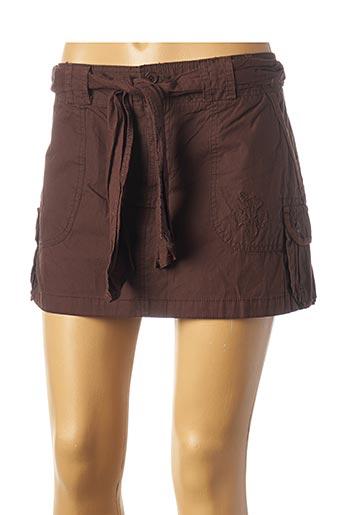 Jupe courte marron BLEND SHE pour femme