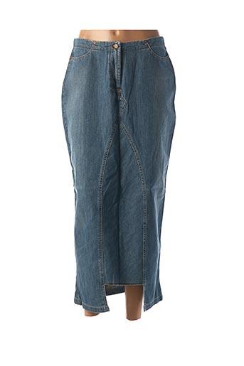 Jupe longue bleu SCHOOL RAG pour femme