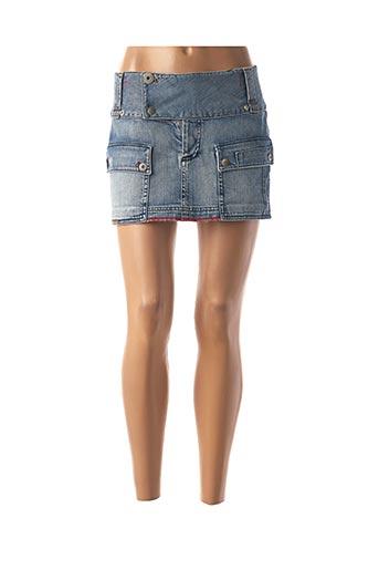 Mini-jupe bleu FREEMAN T.PORTER pour femme