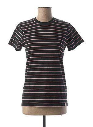 T-shirt manches courtes noir CARHARTT pour femme