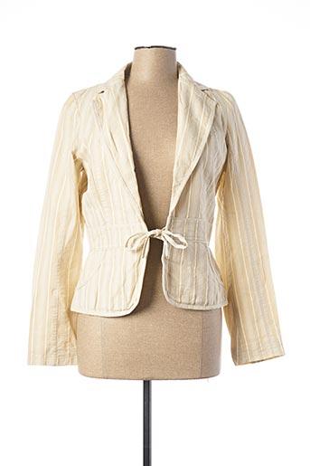 Veste casual beige 2 TWO pour femme