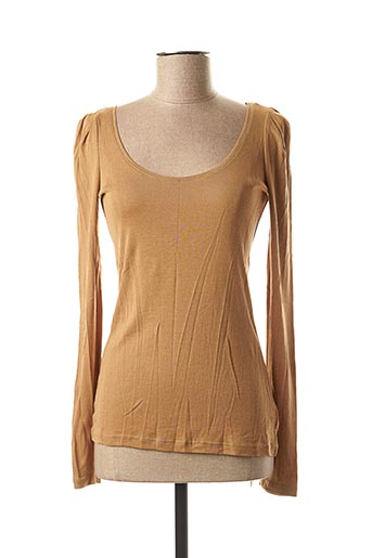 T-shirt manches courtes marron DE.CORP BY ESPRIT pour femme