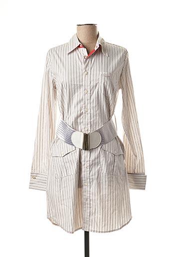 Robe courte gris PHARD pour femme