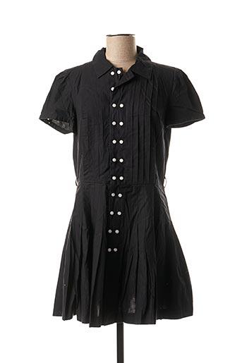 Robe courte noir DDP pour femme