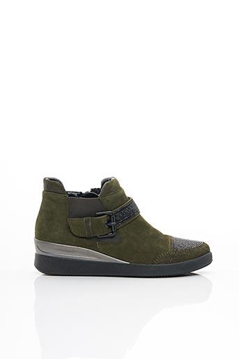 Chaussures de confort vert ARA pour femme
