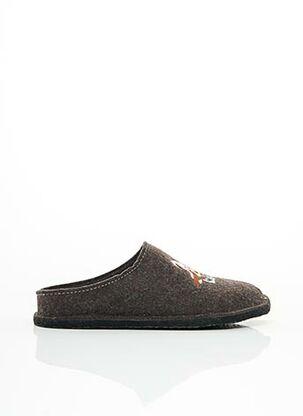 Chaussons/Pantoufles marron FARGEOT pour homme