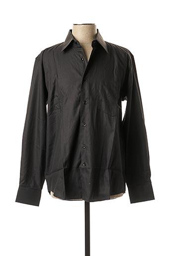 Chemise manches longues noir ATTORE pour homme