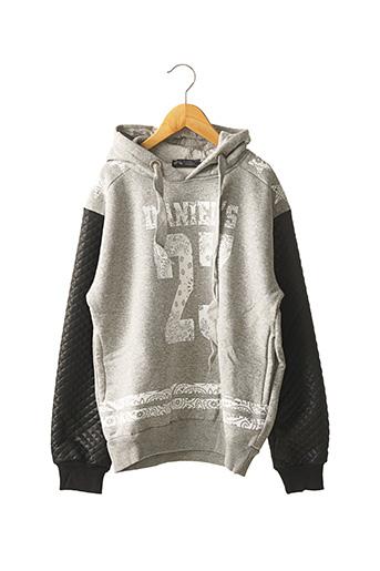 Sweat-shirt gris DANIEL'S MUSIC pour garçon