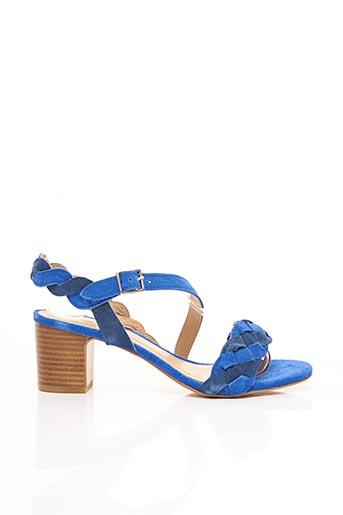 Sandales/Nu pieds bleu BENSIMON pour femme