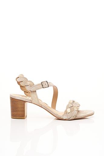 Sandales/Nu pieds gris BENSIMON pour femme