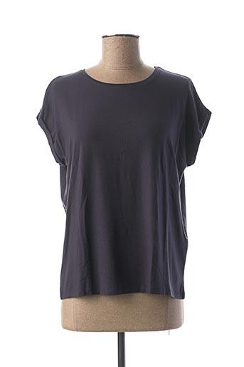 T-shirt manches courtes bleu AWARE BY VERO MODA pour femme