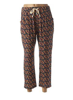 Pantalon casual bleu EMA BLUE'S pour femme