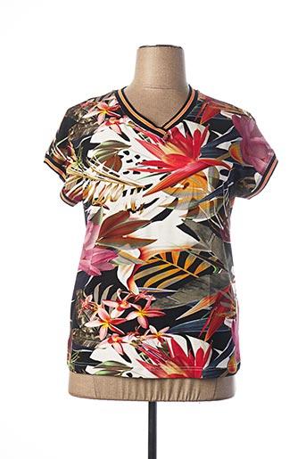 T-shirt manches courtes beige BRANDTEX pour femme