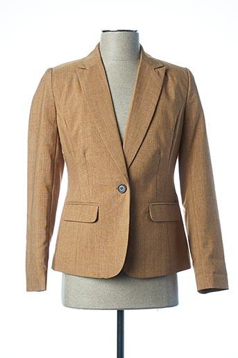 Veste chic / Blazer marron B.YOUNG pour femme