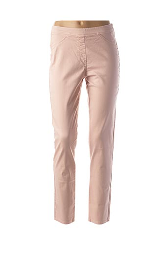Pantalon casual rose EAST DRIVE pour femme