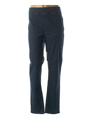 Pantalon casual bleu KANOPE pour femme