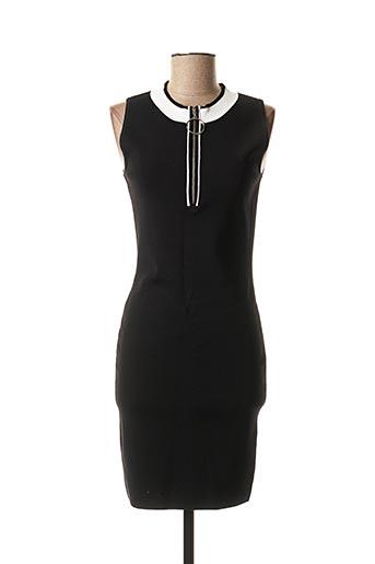 Robe pull noir MORGAN pour femme