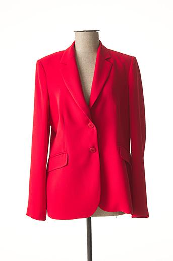 Veste chic / Blazer rouge CARACTERE pour femme