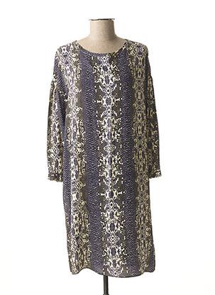 Robe mi-longue bleu TRUSSARDI JEANS pour femme