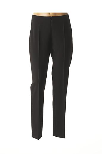 Pantalon 7/8 noir MENSI COLLEZIONE pour femme