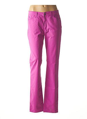 Pantalon casual violet ARMANI pour femme