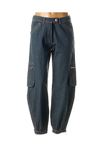 Jeans coupe large bleu BLUE WILLI'S pour femme