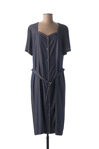 Robe longue bleu GRIFFON pour femme