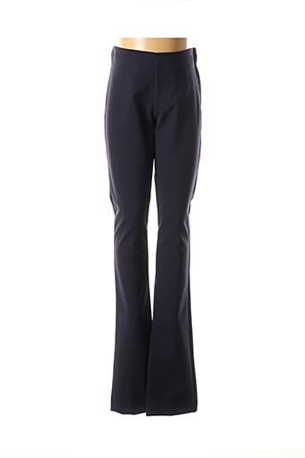 Pantalon casual bleu RINASCIMENTO pour femme
