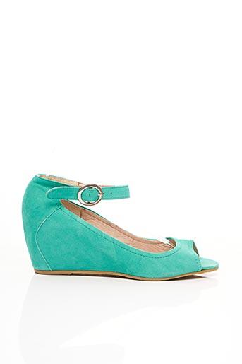 Sandales/Nu pieds bleu DONNA PIU pour femme
