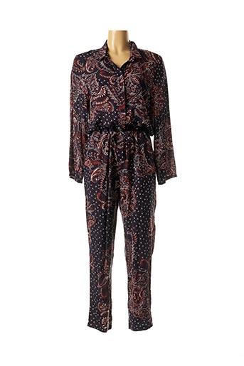Combi-pantalon bleu SUZIE WINKLE pour femme