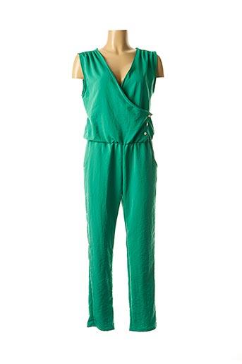 Combi-pantalon vert DROLATIC pour femme