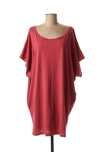Robe courte rouge DROLATIC pour femme