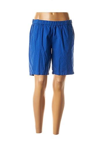 Bermuda bleu HARTFORD pour femme