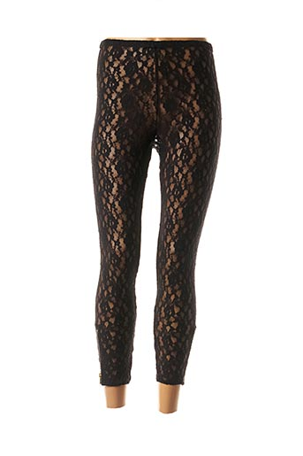 Legging noir LAURENCE BRAS pour femme