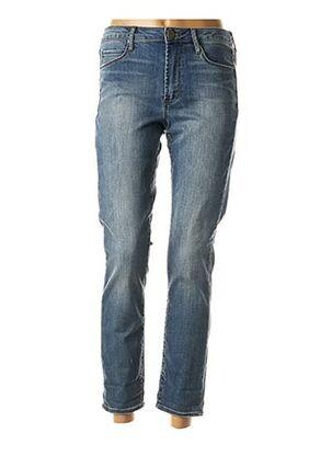 Jeans coupe slim bleu ARTICLES OF SOCIETY pour femme