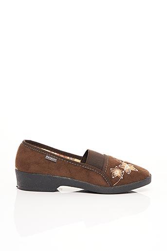 Chaussures de confort marron FARGEOT pour femme
