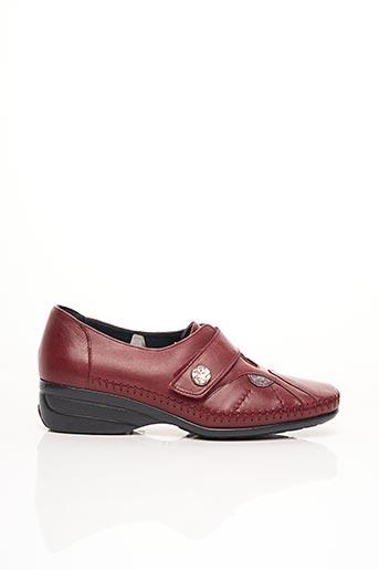 Chaussures de confort rouge ARIMA pour femme
