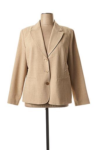 Veste chic / Blazer beige FINNKARELIA pour femme